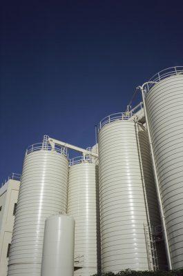 Grain Silos, Spain